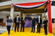 Inauguran aulas y cancha multiuso en la Facultad de Ciencias de la Salud UNE