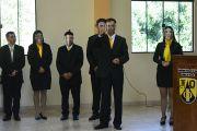 Universitarios de la comunidad de  sordos culminan carrera en la UNE