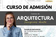 Inician inscripciones para admisión a la carrera de Arquitectura UNE
