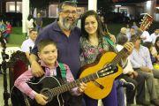 Realizaron Homenaje al Padre Cristino de la Capilla Virgen de Caacupé