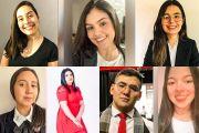 Siete estudiantes de la UNE integran una coalición mundial de jóvenes