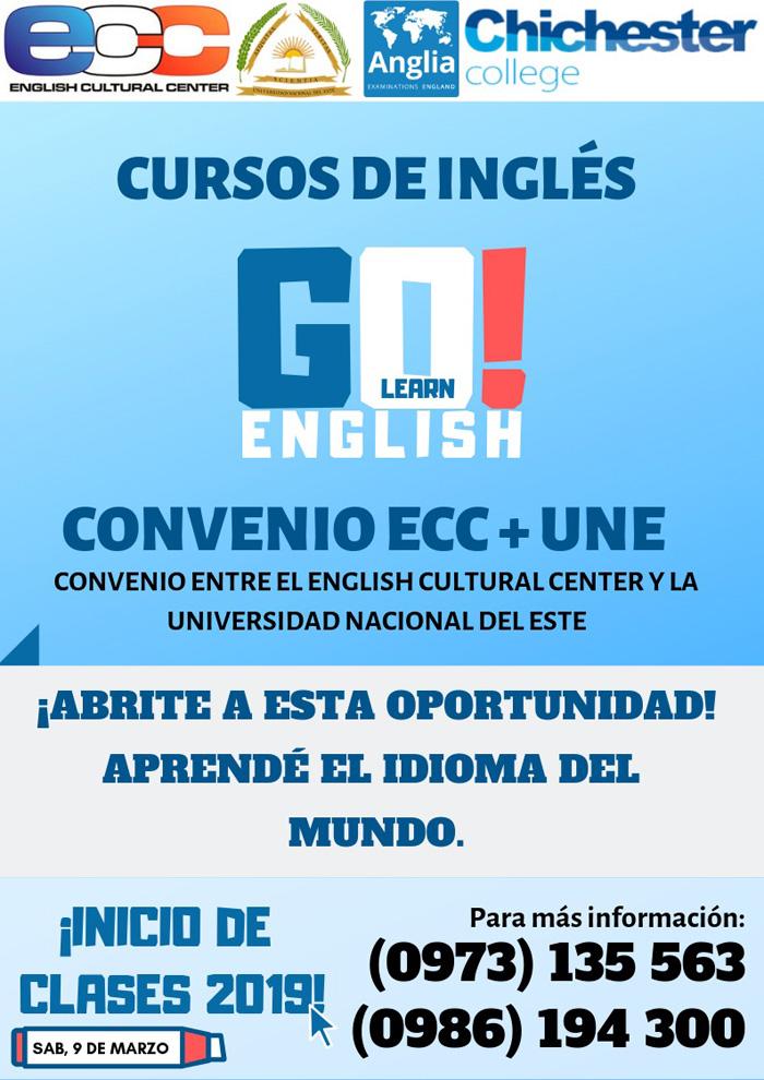 Une Ofrecen Media Beca Para Estudiar Ingles En El Instituto E C C